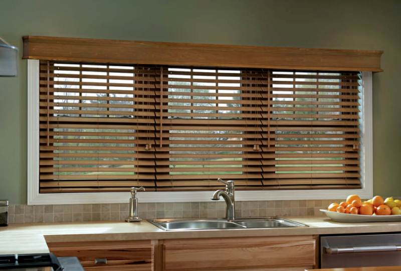 Artificial Vs. Real Wood Blinds