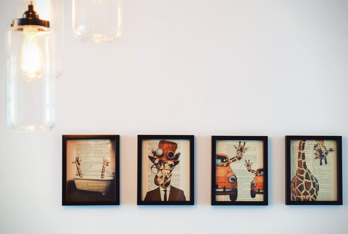 Top 4 tips to create a perfect gallery wall!