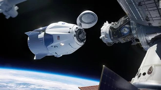 LIVE: SpaceXs Crew Dragon docks at the International Space Station 2021