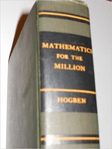 MATHEMATICS FOR THE MILLION
