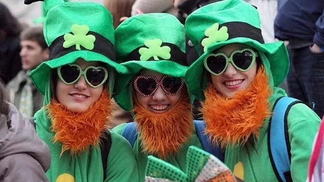 How is St Patricks Day celebrated around the world?
