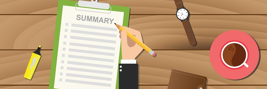 6 Tips to write an efficient executive summary